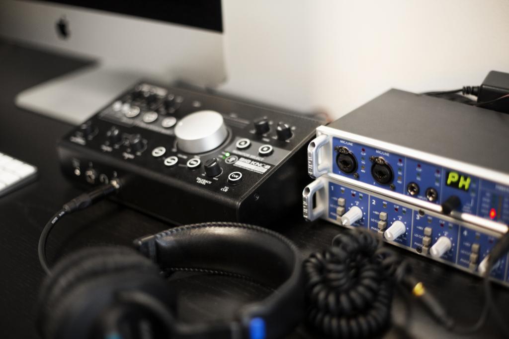 Control room mixer